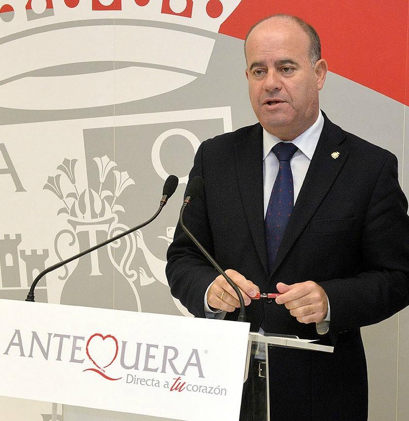 Manuel Barón. Alcalde de Antequera por el Partido Popular