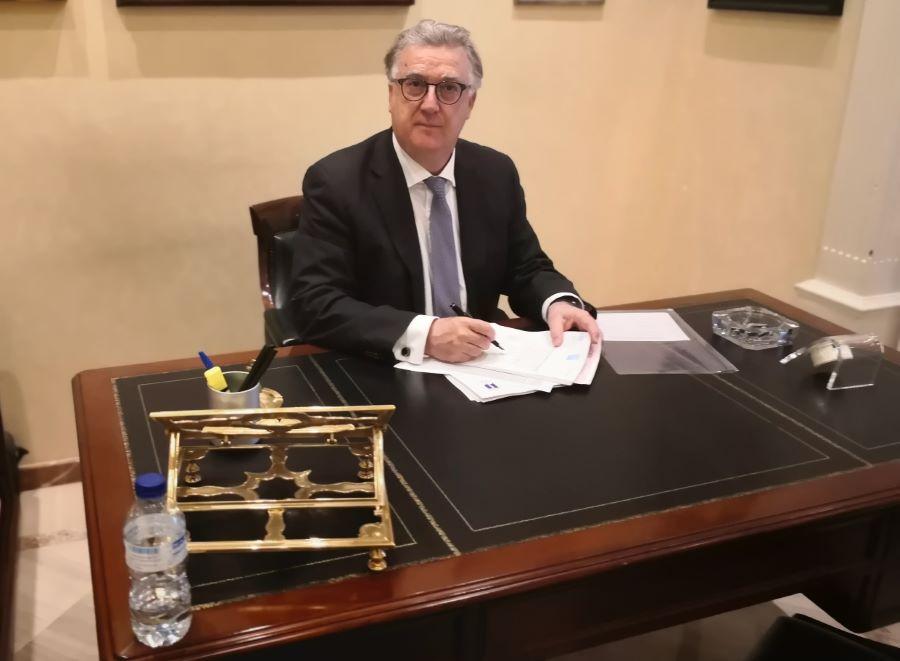 Antoni Bosch. Notario de Barcelona. Foto del notario.